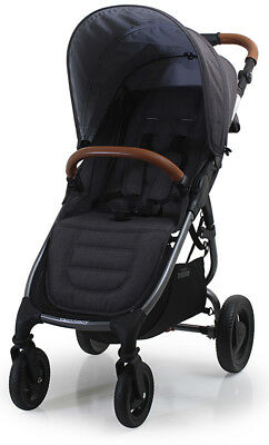 Valco Baby Snap 4 Trend Compact Fold Lightweight Single Stroller Charcoal NEW