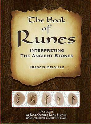 The Book of Runes: Interpreting the Ancient Stones by Francis Melville (English)