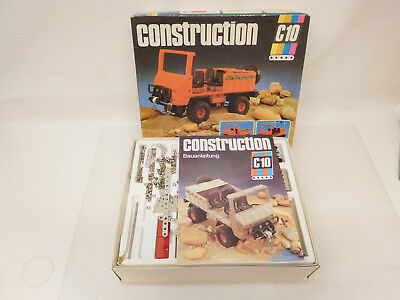 ESF-05499	Metallbaukasten Construction C10 Jeep-Set
