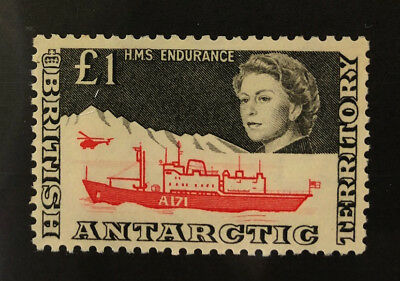 BRITISH ANTARCTIC Beautiful Mint VERY Light Hinged Issue SHIP QEII OD h895