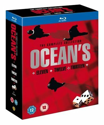 Ocean's Trilogy [Blu-ray] [2007] [Region Free] -  CD HYVG The Fast Free Shipping