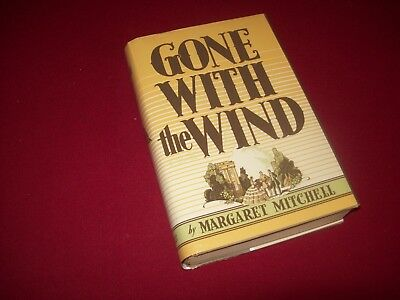 Gone With the Wind by Margaret Mitchel (1936) 3rd Printing Hardcover Novel