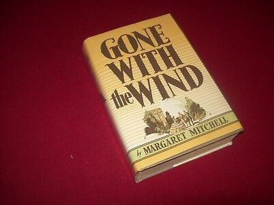 Gone With the Wind by Margaret Mitchel (1936) 5th Printing Hardcover Novel