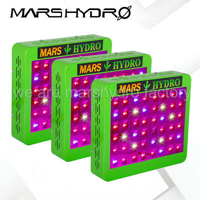 3PCS Mars Hydro Reflector 240W Led Grow Lights Full Spectrum Panel Indoor Plant