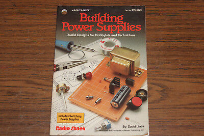Building Power Supplies Cat. No. 276-5025 from Archer, Radio Shack, electronics