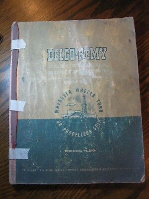1950 Delco Remy Electrical Equipment Handbook (Dr-324)  *ships Free 2 Us!