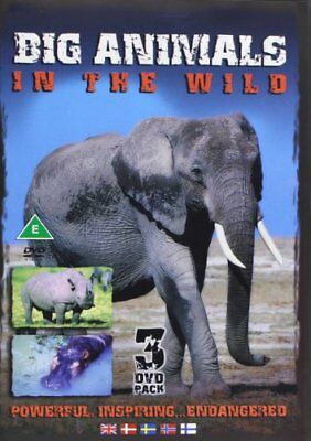 Big Animals In The Wild [DVD] -  CD 2AVG The Fast Free Shipping