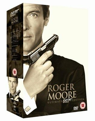 James Bond: Ultimate Roger Moore [DVD] [1973] -  CD ZSVG The Fast Free Shipping