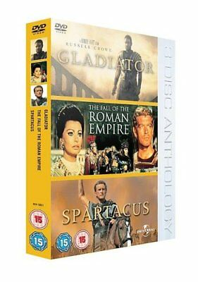 Gladiator/The Roman Empire/Spartacus [DVD] -  CD OEVG The Fast Free Shipping