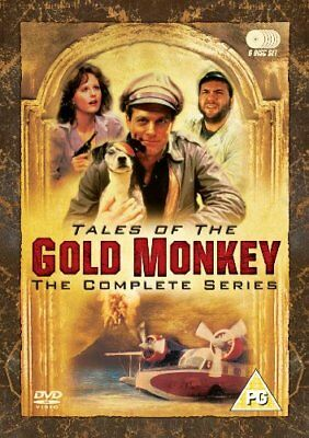 Tales Of The Gold Monkey - The Complete Series [DVD] [1982] -  CD N2VG The Fast