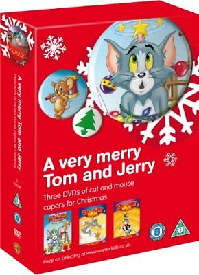 A Very Merry Tom and Jerry Collection [DVD] [2008] -  CD 1QVG The Fast Free