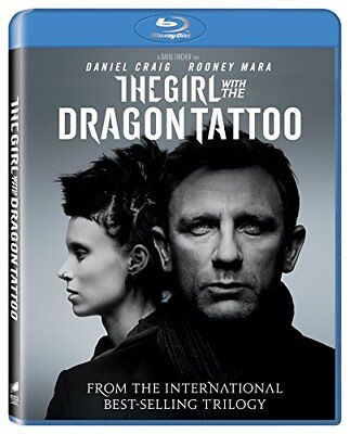 The Girl With The Dragon Tattoo [Blu-ray] [2011] [Region Free] -  CD 3IVG The