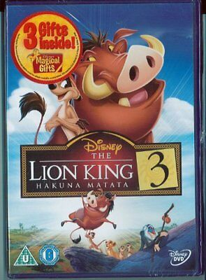 Lion King 3 Magical Gifts DVD Retail -  CD EOVG The Fast Free Shipping