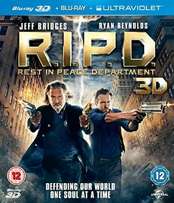 R.I.P.D.: Rest in Peace Department [Blu-ray 3D + Blu-ray] -  CD E2VG The Fast