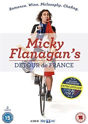 Micky Flanagan's Detour de France [DVD] [2014] -  CD JCVG The Fast Free Shipping