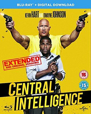 Central Intelligence (Blu-ray + Digital Download) [2016] -  CD 6SVG The Fast
