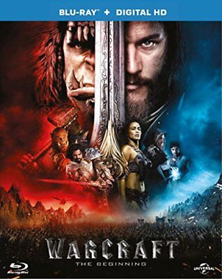 Warcraft: The Beginning (Blu-ray + Digital Download) [2016] -  CD BQVG The Fast