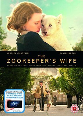 The Zookeeper's Wife DVD + digital download [2017] -  CD 6KVG The Fast Free