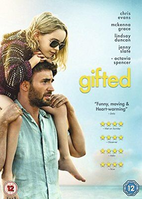 Gifted [DVD] [2017] -  CD LVVG The Fast Free Shipping