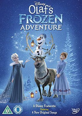 Olaf's Frozen Adventure [DVD] -  CD KNVG The Fast Free Shipping