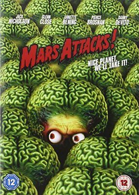 Mars Attacks! [DVD] [1996] -  CD NJVG The Fast Free Shipping