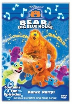 Bear In The Big Blue House - Dance Party [DVD] -  CD F0VG The Fast Free Shipping