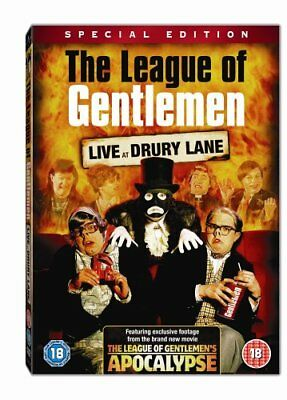 The League Of Gentlemen - Live At Drury Lane: Special Edition  [DVD] -  CD 52VG