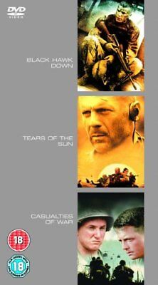 Black Hawk Down/Tears Of The Sun/Casualties Of War [DVD] -  CD OUVG The Fast