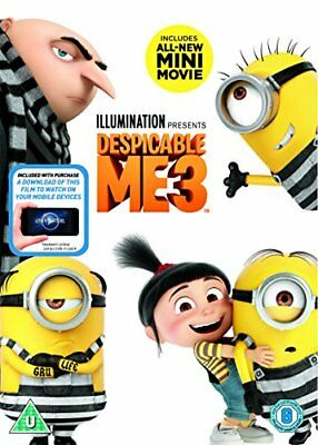 Despicable Me 3 (DVD + digital download) [2017] -  CD BVVG The Fast Free