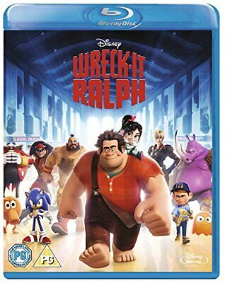 Wreck-It Ralph [Blu-ray] [Region Free] -  CD OMVG The Fast Free Shipping