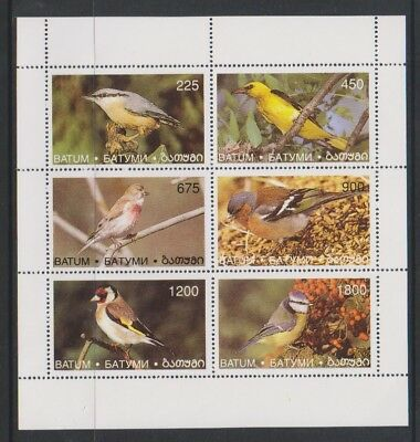 Batum (Georgia) - Birds sheet - MNH