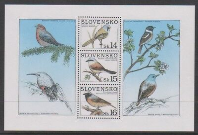 Slovakia - 1999, Song Birds sheet - MNH - SG MS325