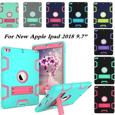 "Shockproof Case Cover Kids Heavy Duty Kickstand for  New Ipad 2018 9.7""  6th GEN"