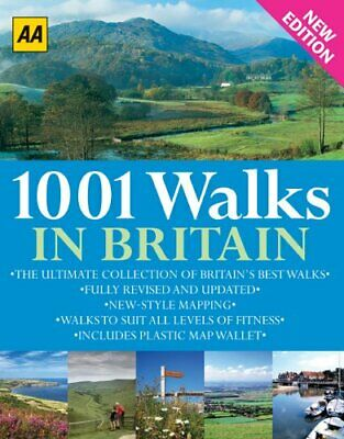 1001 Walks in Britain (Walking Guid... by Automobile Associati Other book format