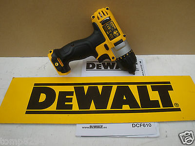Brand New Dewalt Xr Dcf610 10.8V  Screwdriver Bare Unit
