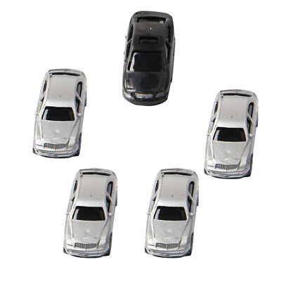 5x 1:100 Car Model DIY Sand Table Building Material Vehicles Model Accessory