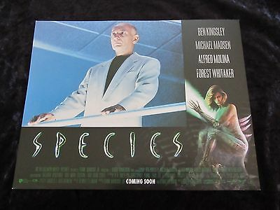 SPECIES lobby card # 1 BEN KINGSLEY