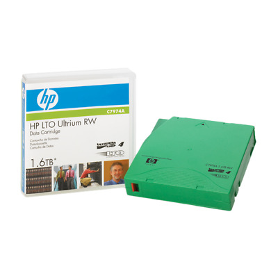 HP Enterprise C7974A C7974A 800GB LTO blank data tape LTO4 Ultrium 1.6TB