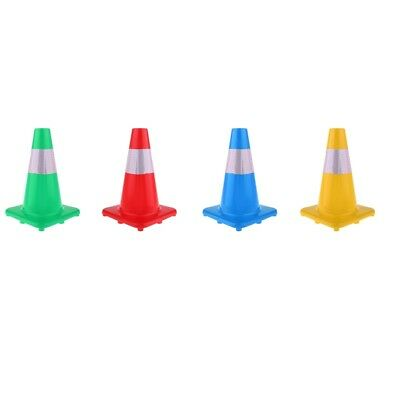 Reflective Safety Cone Soccer Football Roller Skating Training Aid Marker