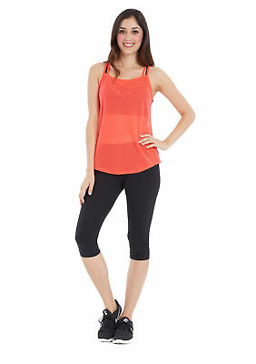 Marika Women's Activewear Mesh Tank Top Workout Shirt