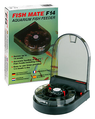 Pet Mate Fischfutterautomat Fish Mate F14 für Aquarium Ref. 207N