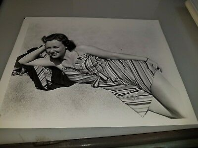Vintage 8 X 10 Photograph From Irving Klaws Archives Of Monica Lewis Lot #3