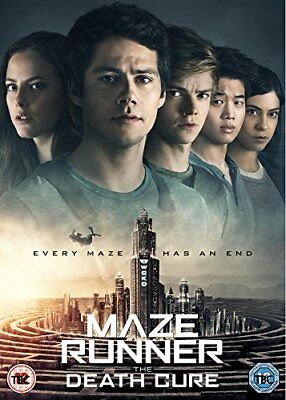 Maze Runner - The Death Cure [DVD] [2018] -  CD 45VG The Fast Free Shipping