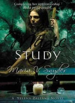 Magic Study (Book 2 in The Study Trilogy)-Maria V. Snyder