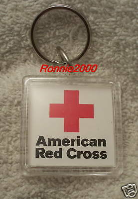 KEYHOLDER from a American Red Cross pin.  REDUCED!