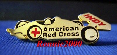 IndyCar GOLD American Red Cross pin EXTREMELY RARE, HTF, LAST TWO AVAILABLE!!