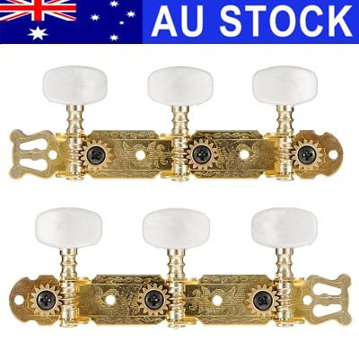 AU 2X Tuning Pegs Machine Heads Tuners Keys Classical Acoustic Guitar String