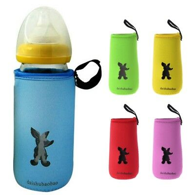 Baby Bottle Bag Milk Thermal Insulation Antiscald Cover Keep Warm Holder Storage