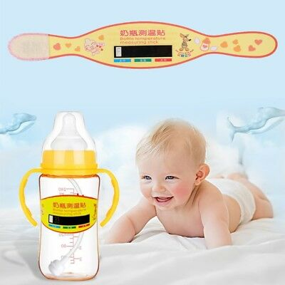 Test Paper Baby Bottle Thermometer Milk Temperature Measurement Strip Card Label
