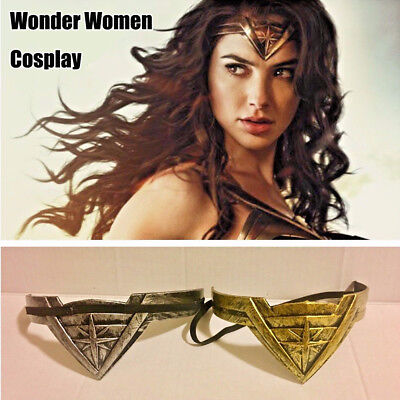 Wonder Woman Cosplay Headwear Headband Tiara Crown Comic Costume Headband Props